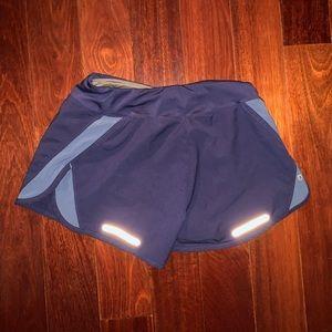 Asics Shorts - Asics Women's Blue Shorts